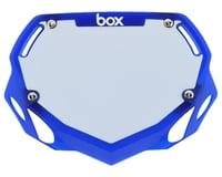 Box Two Number Plate (Translucent Blue)