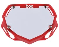Box Two Number Plate (Translucent Red)