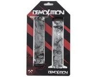 Demolition Axes Flangeless Grips (Black/White Swirl) (Pair)