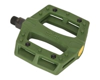 Eclat Contra Composite Platform Pedals (Army Green)