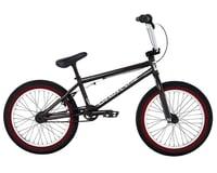 "Fit Bike Co 2021 Misfit 18"" BMX Bike (18"" Toptube) (Trans Black)"