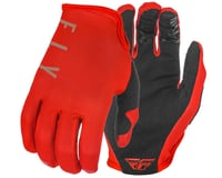 Fly Racing Lite Gloves (Red/Khaki)