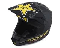 Fly Racing Kinetic Rockstar Helmet (Matte Grey/Black/Yellow)