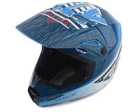 Fly Racing Kinetic K120 Helmet (Blue/White/Red)