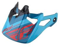 Fly Racing Werx Helmet Visor (Ultra) (Red/Blue/Black)