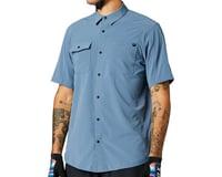 Fox Racing Flexair Woven Short Sleeve Shirt (Matte Blue)