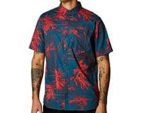 Fox Racing Bad Trip Woven Short Sleeve Shirt (Dark Indigo)