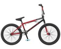 """GT 2021 Slammer BMX Bike (20"""" Toptube) (Satin Black/Gloss Red Fade)"""