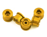 INSIGHT Alloy Chainring Bolts (Gold) (Short)