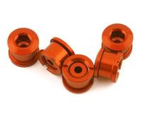 INSIGHT Alloy Chainring Bolts (Orange) (Short)
