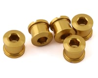 INSIGHT Alloy Chainring Bolts (Gold) (Long)