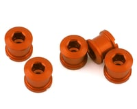 INSIGHT Alloy Chainring Bolts (Orange) (Long)