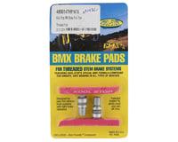 Kool Stop BMX Brake Pads (Threaded) (Pink) (Pair)