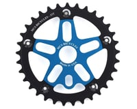 MCS Alloy Spider & Chainring Combo (Blue/Black)