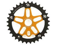 MCS Alloy Spider & Chainring Combo (Gold/Black)