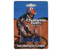 MCS Alloy Chainring Bolts (Blue)