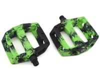 Mission Impulse PC Pedals (Black/Green Splash)