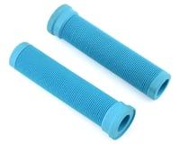 ODI Longneck Soft Compound Flangeless Grips (Aqua) (135mm)