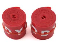 "Odyssey Rim Strip (Red) (24"") (Pair)"