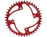 RENNEN BMX Threaded 4-Bolt Chainring (Red)