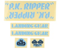 SE Racing PK Ripper Decal Set (Blue)