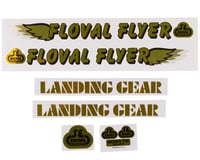 SE Racing Floval Flyer Decal Set (Gold)