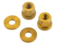 The Shadow Conspiracy Featherweight Alloy Axle Nuts (Gold)