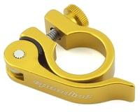 SPEEDLINE Quick Release Seatpost Clamp (Gold)
