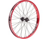 Stolen Rampage Front Wheel (Black/Red)
