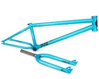 """Stolen Spade Pro 22"""" Frame and Fork (Matte Electric Blue)"""