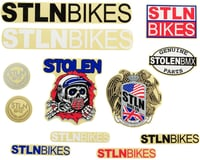 Stolen Sticker Pack: 12-piece, Assorted