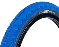 Sunday Current V2 BMX Tire (Blue/Black)