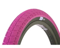 Sunday Current V2 BMX Tire (Hot Pink/Black)