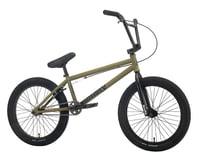 """Sunday 2021 Primer BMX Bike (21"""" Toptube) (Matte Army Green)"""