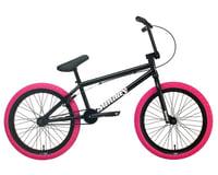 "Sunday 2022 Blueprint BMX Bike (20"" Toptube) (Gloss Black/Pink)"