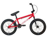 """Sunday 2022 Primer 16"""" BMX Bike (16.5"""" Toptube) (Matte Fire Engine Red)"""