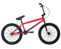 """Sunday 2022 Primer BMX Bike (20.75"""" Toptube) (Matte Fire Engine Red)"""