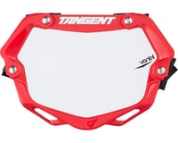 Tangent Mini Ventril 3D Number Plate (Red/White)