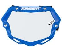 Tangent Mini Ventril 3D Number Plate (Blue/White)