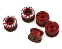 Tangent Alloy Chainring Bolts (4mm) (Red)