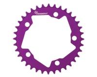 Tangent Halo 5-Bolt Chainring (Purple)