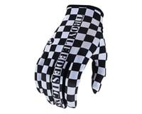 Troy Lee Designs Flowline Gloves (Checkers White/Black)