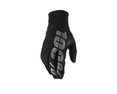 100% Hydromatic Waterproof Gloves (Black) (XL)
