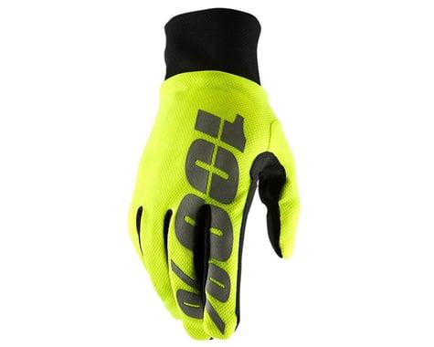 100% Hydromatic Waterproof Gloves (Neon Yellow) (2XL)