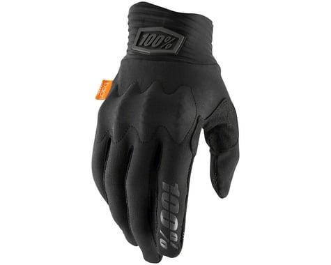 100% Cognito Full Finger Gloves (Black/Charcoal) (XL)