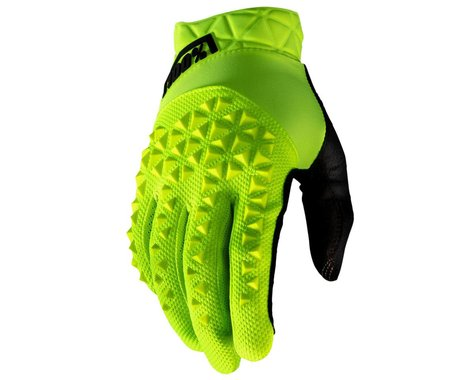 100% Geomatic Gloves (Fluo Yellow) (S)
