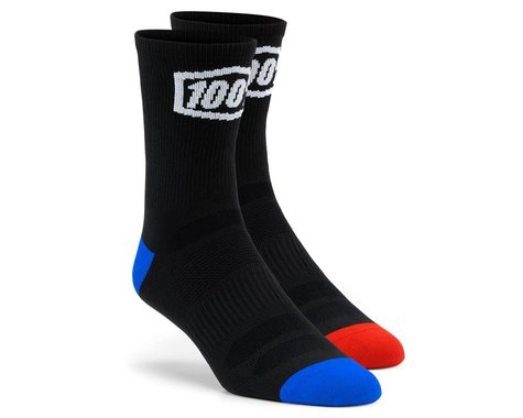 100% Terrain Socks (Black) (S/M)