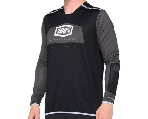 100% R-Core X Jersey (Black) (L)