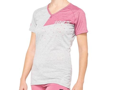 100% Women's Airmatic Jersey (Pink) (XL)