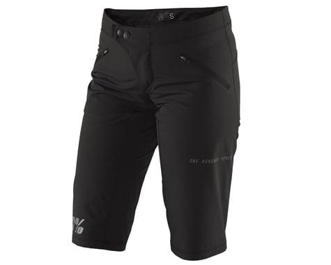 100% Ridecamp Women's Short (Black) (M)